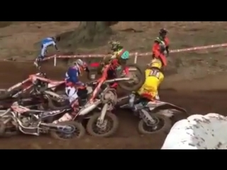 Crash motocross