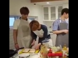 lets be real we all know jungwoo cant cook for shit, jaemin rly took the knife off him LMAO
