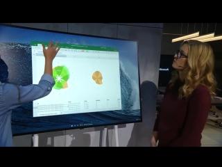 WCOS Aruba на Surface Hub 2 Demo | Microsoft Ignite 2018