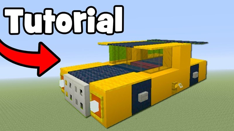 Minecraft Tutorial: How To Make Bumblebee (Car) Transformers