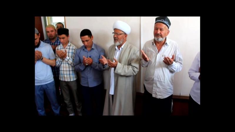 SHahrixon shaxar Sulaymonbek jome masjidi mehmoni Rasulbek qori yo'ldoshev.