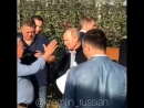президент намеревался осмотреть колхоз «Рассвет», прославившийся своими яблоневыми садами, а также пообщаться с рабочими и узнат