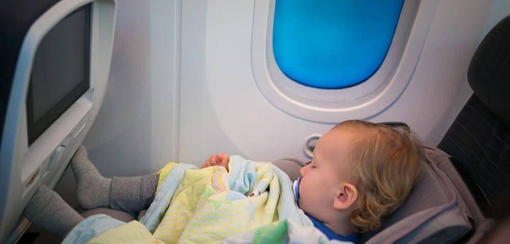 Бесплатный перелет для детей