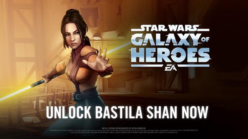 Star Wars Galaxy of Heroes - Legends of the Old Republic Trailer - Bastila Shan Jolee Bindo