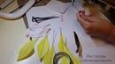 Лилия из гофрированной бумаги.Часть 1. Цветы из бумаги. Мастер класс. Мк. Сладкие букеты.