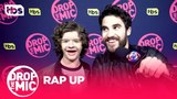 Drop the Mic Gaten Matarazzo, Darren Criss, Chandler Riggs, &amp Chad L. Coleman - RAP UP TBS