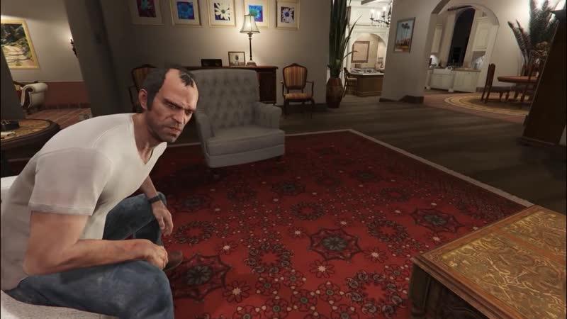 Кат сцены от первого лица GTA V