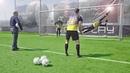 Freekickerz training with the best goalkeeper (legend) !