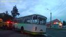 Транспортировка автобуса ЛиАЗ 677М
