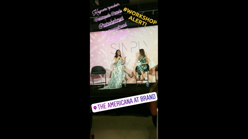 Keynote speaker vibes @EmeraudeToubia today at the SIMPLYLA event