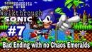 Прохождение серии игр Sonic The Hedgehog 1 Sonic The Hedgehog SMD,Sega Genesis Часть 7 Bad END