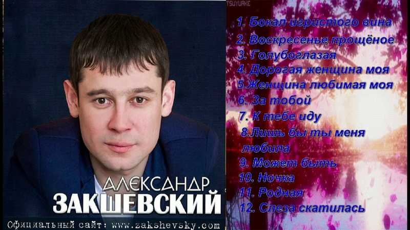 Красивые песни Александр Закшевский - Сборник 2018