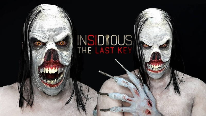 INSIDIOUS Key Face Demon makeup (Insidious: The Last Key)