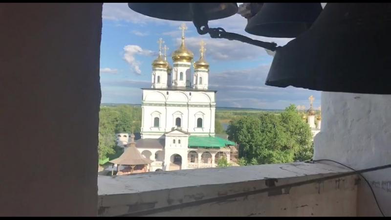 Иосифо-Волоцкий монастырь. Колокольный звон 2