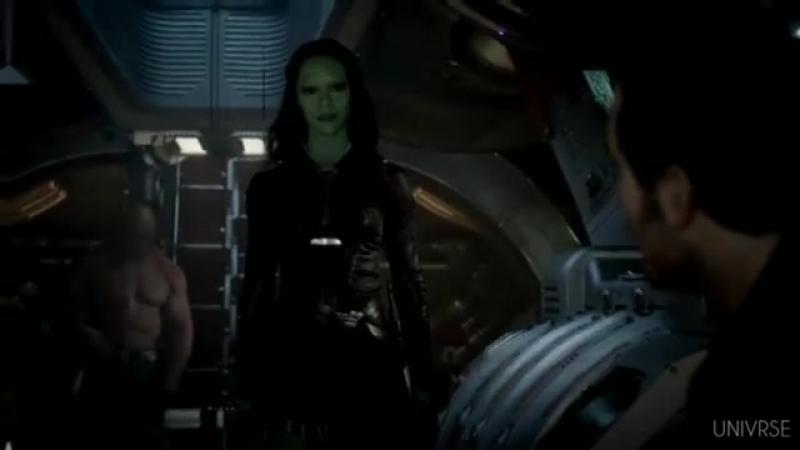 Gamora × Star Lord