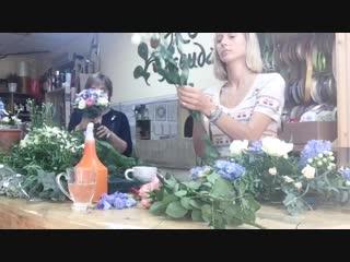 Моменты цветочного закулисья