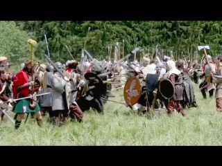 Hobbits five armies clash in Czech forest