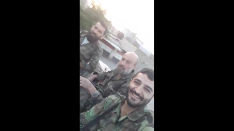 Передислокация на новые позиции в операциях против Daesh в анклаве на юге Дамаска