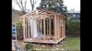 Garden Shed, Storage. DIY. Садовый летний домик