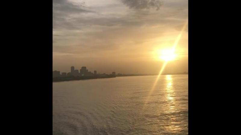 @ Mississippi river neworleans @mpolanski ❤️ 11 08 2018