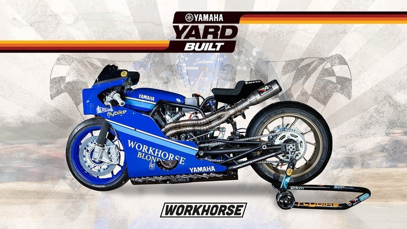 Yamaha Yard Built – XSR700 by Workhorse to race the Sultans of Sprint