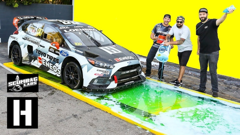 Can Dish Soap Stop a 600hp AWD Rallycross Car from Launching