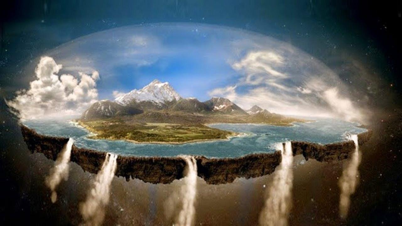 Сторонники теории плоской Земли объяснили, почему самолеты не падают с края