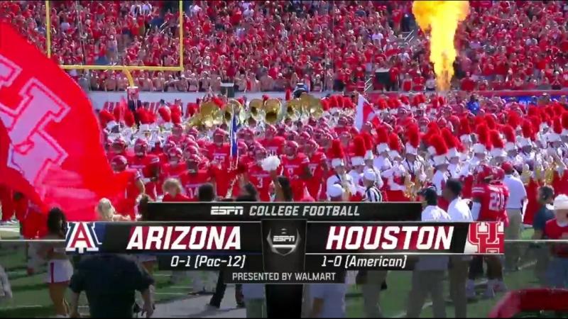 NCAAF 2018 / Week 02 / Arizona Wildcats - Houston Cougars / EN