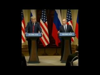 Реакция Трампа на русское слово «факт» (созвучно с английским fuck)