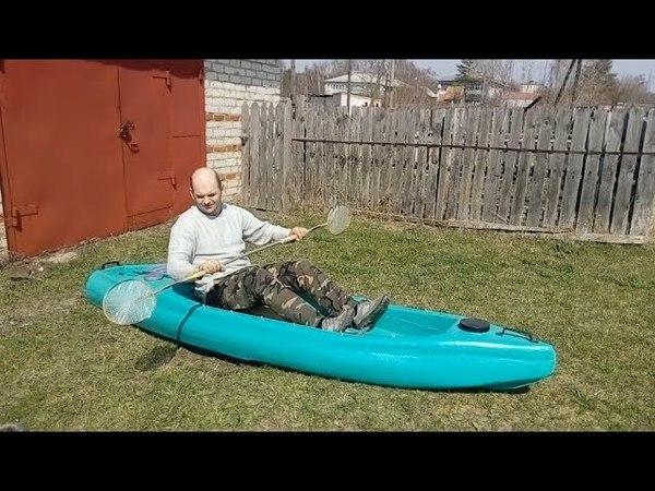 Строим моторный каяк серия12 / Build a motor kayak series 12