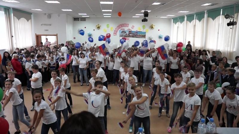 Россия мы дети твои. Выступление на конкурсе Танцующая Тюмень