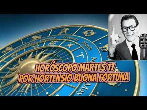 HORÓSCOPO DIARIO DEL MAESTRO HORTENSIO BUONA FORTUNA ( MARTES 17 DE JULIO DEL 2018)