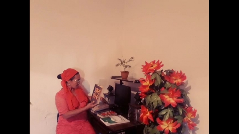 Жастар таңдайды - Молодежь предпочитает жобасына қатысушысы Мектепбаева Бағдагүл жастарды кітап оқуға шақырады