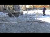 Обстрел больницы №5 г- Макеевки- 30-01-2017- Погиб 1 человек-