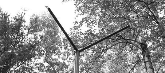 Светильники в парке работали недолго