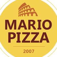 Логотип Марио Пицца Сергиев Посад Кикотай