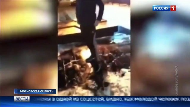 Вести-Москва • В Подмосковье хулиган устроил танцы у Вечного огня