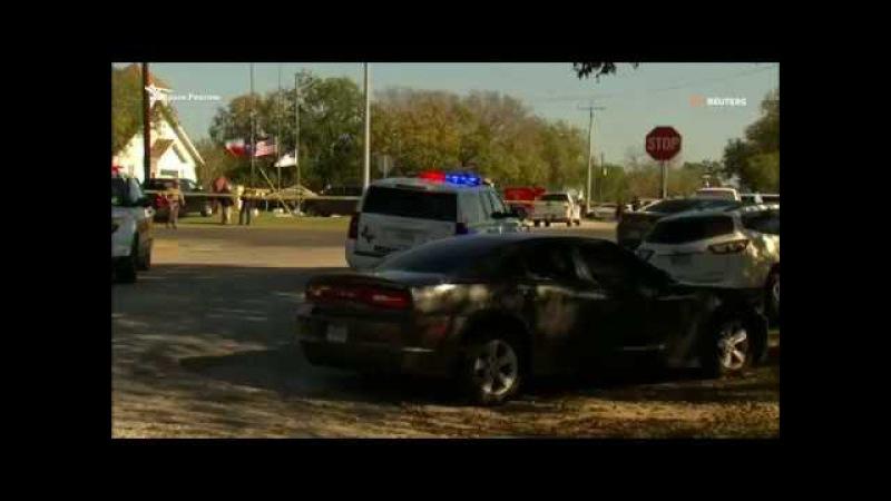 В Техасе при нападении на баптистскую церковь убиты 26 человек