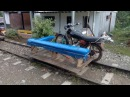 Заезд на пионерке по узкоколейке от Кордобы до Сан Сиприано Колумбия