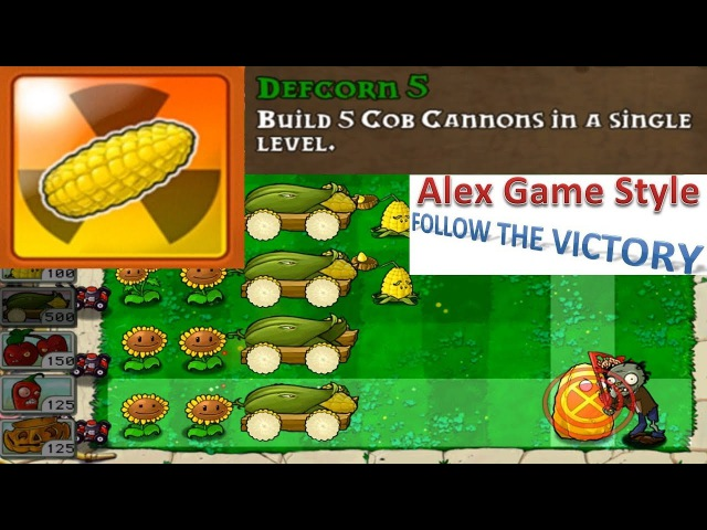 Plants vs. Zombies - Achievement - Defcorn 5 (Android Gameplay HD) Ep.84