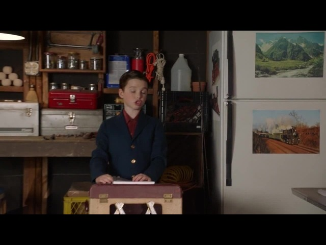 Young Sheldon: -Welcome to the Church of Mathology. Today, I'd like to talk about prime numbers, and why they bring us joy. -Hallelujah!