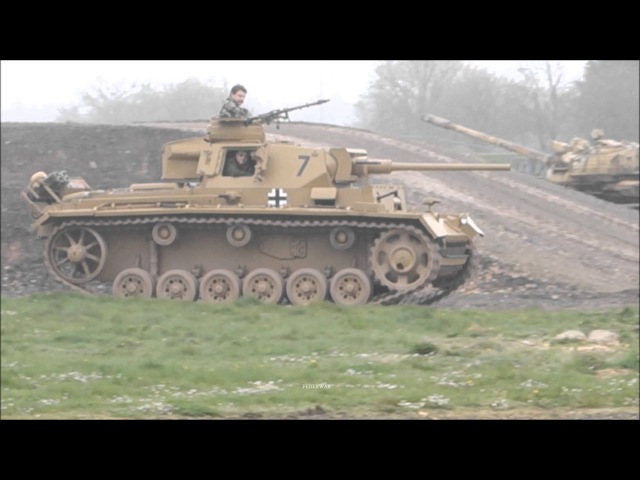 Panzer III Kettenkrad - Tiger Day The Tank Museum
