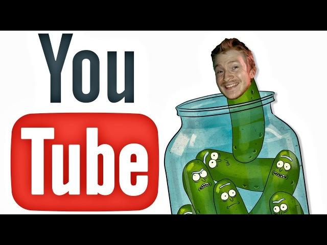 Огуречный, оставь в покое меня и YouTube, сучий ты потрох!