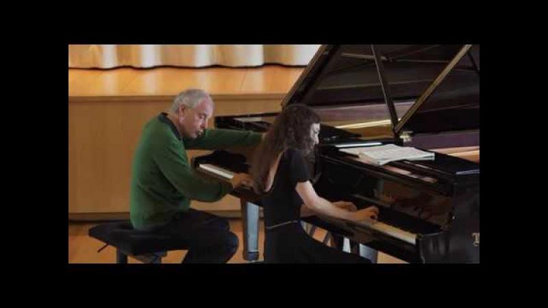 Masterclass with Andras Schiff Julia Hamos performs Bach