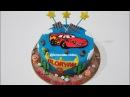 Cara Membuat Kue Ulang Tahun yang Mudah - Easy Simple ! How to Make Birthday Cake Cars Mcqueen