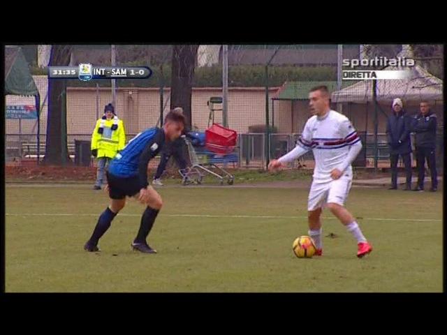 Campionato PRIMAVERA 1: Inter - Sampdoria 1-0