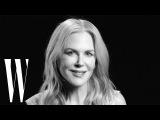Nicole Kidman on Big Little Lies, Moulin Rouge, and Oscars Mini-Dress  Screen Tests  W Magazine
