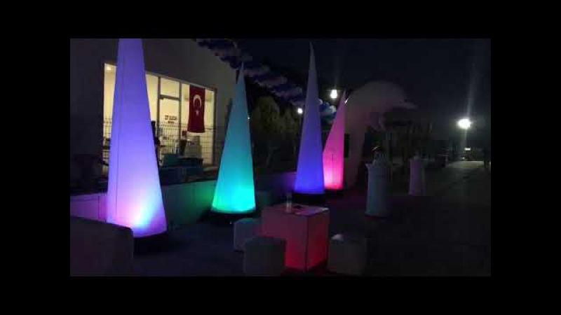 Papyon Event KoKteyl Açılış Deniz tema Deniz Feneri Yunus Oturma Grubu