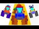 ТРАКТОРЕЦЬ - дитячі пісні про трактор і мультики про машинки українською