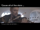 DAVID GARRETT - Oasis cover- LyricsScore - Stop crying your heart out (No oficial video)